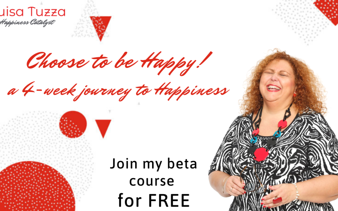 Choose to be Happy – Join my new course